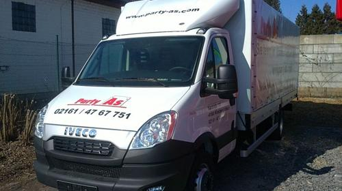 Trier Transporter Mit Fahrer