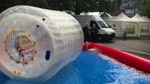 Wasserrollen Walk als Alternative zum Wasserball