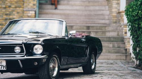 Ford Mustang 1968 GT Cabrio Wochenende