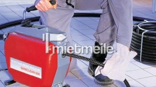 Rohrreinigungsmaschine, elektrisch