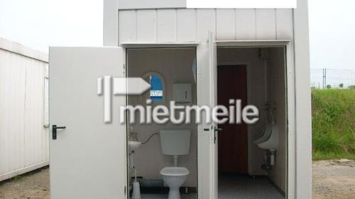 Toiletten - und Duschcontainer