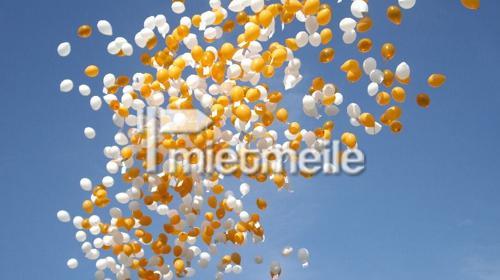 Luftballon Weitflug Wettberwerb