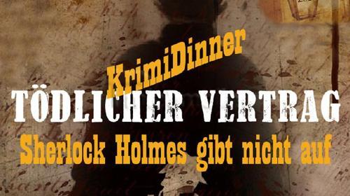 """Krimidinner, Dinnertheater Krimi""""Sherlock Holmes"""""""