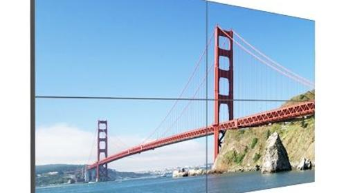 "Samsung 55"" steglos Display-Wall 2x2"