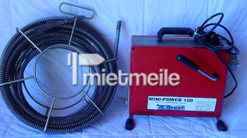 Rohrreinigungsgerät -  Rohr - Verstopfung