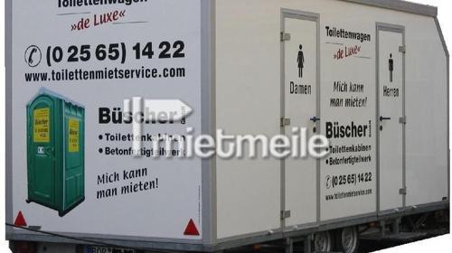 de luxe WC-Wagen  /  Toilettenwagen