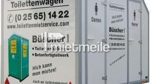 de luxe WC-Wagen (klein)  /  Toilettenanhänger