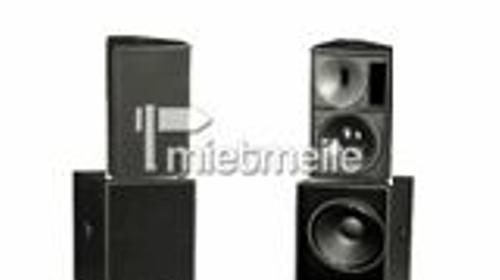 Beschallungsanlage bis 300 , Acoustic Line A6/B1801