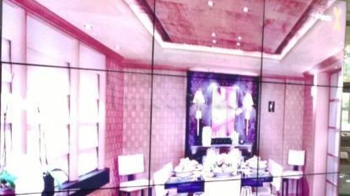 Steglos Videowand mieten 55 Zoll Samsung steglos