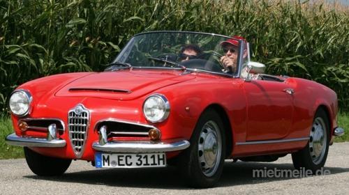 Oldtimer / Alfa Romeo Spider / Alfa / Sportwagen / Cabrio