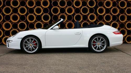 Porsche 911 / 997 4S, Porsche, 4S, Sportwagen, Cabrio, weiss