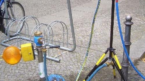 Trinkwasser - Wasserverteiler - Stativverteiler
