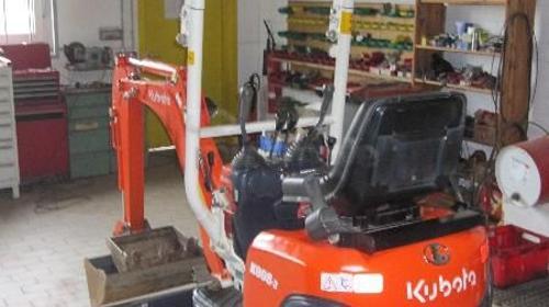 Kubota K008-3, Minibagger 0,8t