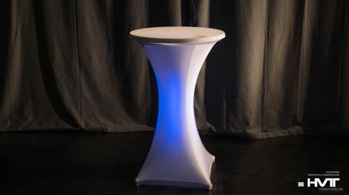 Stehtisch mit LED Belechtung