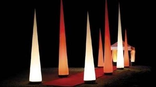 Leuchtskulptur Aircone