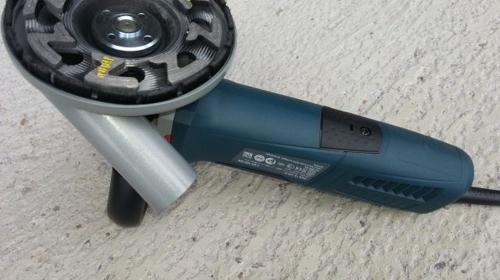 Beton-/Estrichschleifer 125 mm Durchmesser