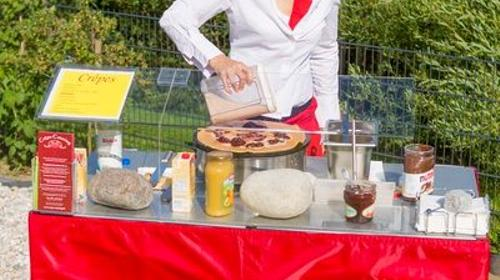 Crepes Stand mieten crepes stand stundenweise