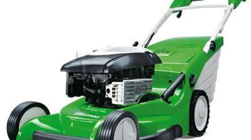 Benzin Rasenmäher mit Hinterradantrieb