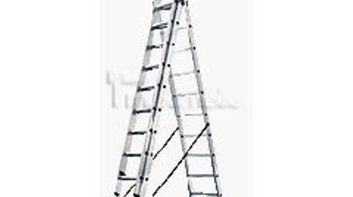 Kombileiter Leiter Sprossenleiter Arbeitshöhe 9 m
