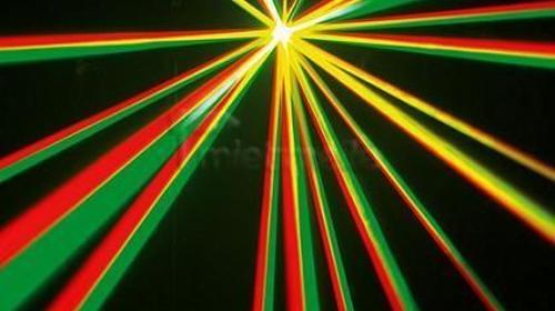 Partylicht / Party- Scheinwerfer TRI GEM LED