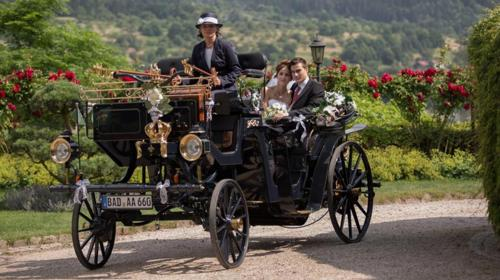 Motorkutsche für Hochzeiten (Preis + Anfahrt)