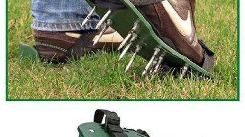 Rasenlüfter Wurzellüfter Vertikutierer Fußvertikut