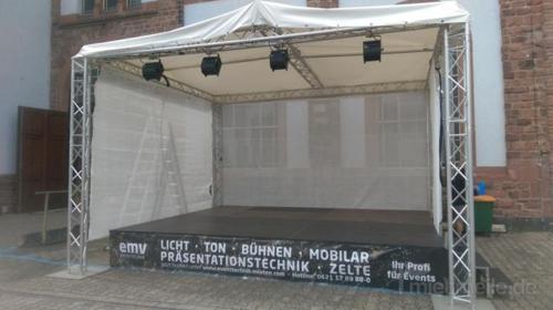 mobile Bühne, Open Air, Konzert Bühne 5x4m
