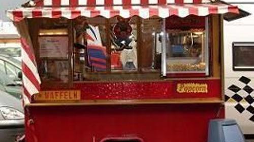 Waffeln ♥ Popcorn ♥ Zuckerwatte ♥ Verkaufsstand mi