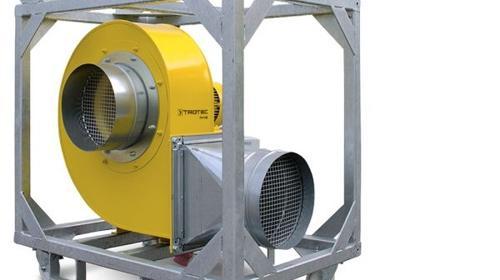Radialventilator Trotec TFV 100 Ex