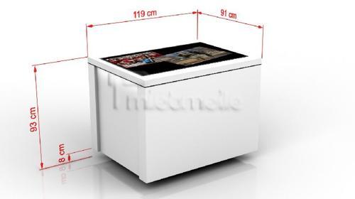 Touchscreen Multitouch-Tisch Touchtable Touchtisch