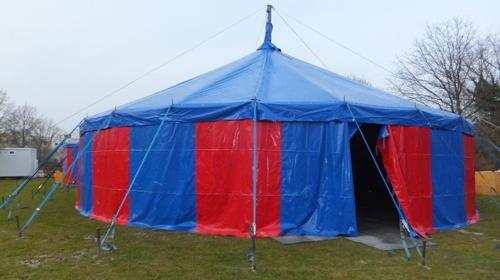 Circuszelt/ Zirkuszelt mit 16m Durchmesser