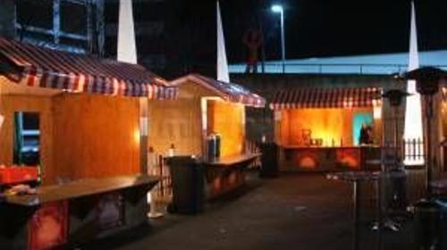 Weihnachtsmarkt, Markthütten, Marktbuden Verleih