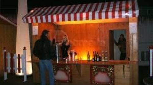 Weihnachtsmarkthütte, Marktbude verleih