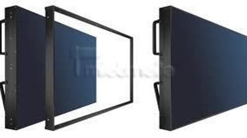 "46"" Steglos LCD Medienwand Displaywand mieten"