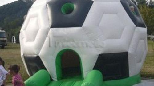 Hüpfburg Fußball mieten, leihen, verleih