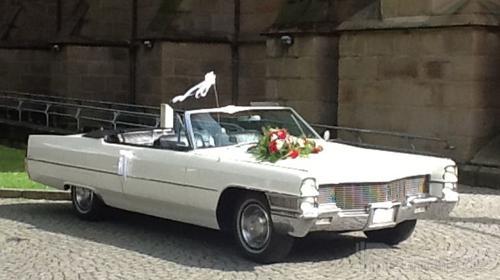 Cadillac de Ville - Hochzeitsauto