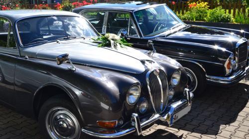 Oldtimer Hochzeits/Jubiläumsausfahrt + Chauffeur