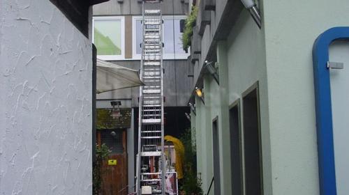 Dachdeckeraufzug / Bauaufzug