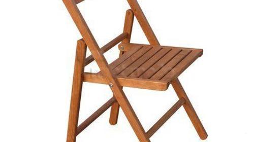 Klappstuhl / Stuhl aus Buchenholz