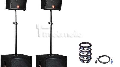 "Party Musikanlage JBL CROWN DBX 18"" Bässe 12"" Tops"