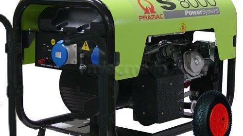 Pramac HONDA 5500W AVR Dauerleistung Stromerzeuger