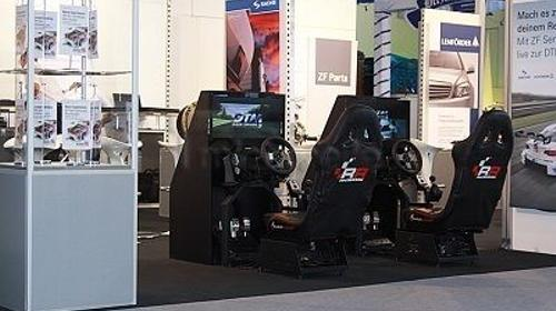 Race Seat Rennsimulation, Fahrsimulator