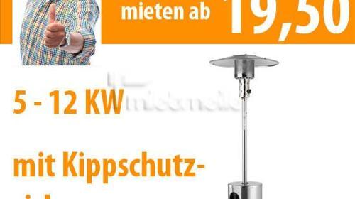 Terrassenstrahler Edelstahl - Heizpilz, Partystrah