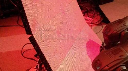 5mm LED Wand Kacheln mieten kreatives Display