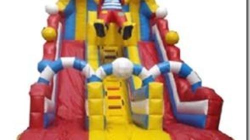 Clownsrutsche 8,5x 5 Meter. Inkl. MWSt.