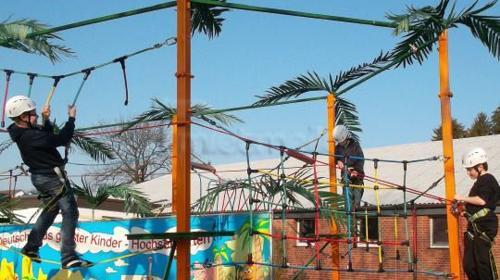 Hochseilgarten für Kinder inkl. 2 Betreuer -6 Std.