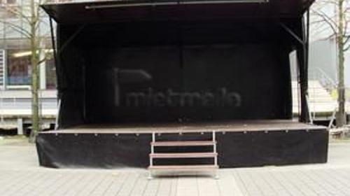 mobile Bühne 6m x 4m / Bühne mieten