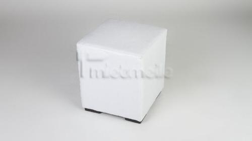 Loungewürfel / Cube / Sitzwürfel 40cm - weiss