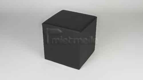 Loungewürfel / Cube / Sitzwürfel 45cm schwarz