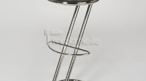 Barhocker | Sitzhocker | schwarzes Kunstleder | Z-